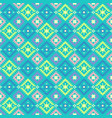 geometrical tribal ethnic pattern vector image