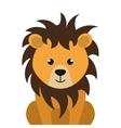 lion animal cartoon vector image vector image