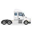 semi truck trailer 01 vector image vector image