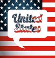 united states emblem vector image vector image