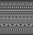 abstract black and white tribal stripes vector image vector image