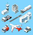airline terminal aero tower airplane