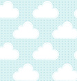 Cartoon rain vector image vector image