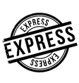 Express stamp rubber grunge vector image vector image