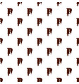 letter p from latin alphabet made of chocolate vector image vector image
