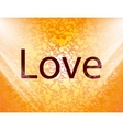 Love you icon symbol Flat modern web design with vector image