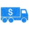 Money Delivery Grainy Texture Icon vector image vector image