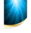 vector abstract background with star vector image vector image