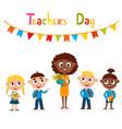 african-american teacher vector image vector image