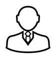 businessman icon image vector image vector image