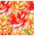 camelliarose seamless pattern flowers vector image