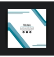 Frame icon Cover background graphic vector image