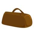 hand bag icon cartoon style vector image