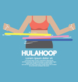 Hulahoop Playing vector image vector image