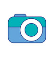 photo camera device technology application vector image vector image