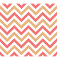 pink and beige chevron retro decorative pattern vector image vector image