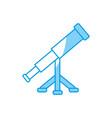 vintage telescope icon vector image vector image