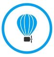 Balloon Airship Icon vector image