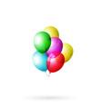 balloon set colored vector image vector image