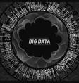 big data visualization futuristic