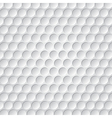 golf ball pattern vector image vector image