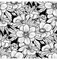 graphic anemones pattern
