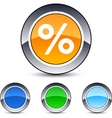 Percent button vector | Price: 1 Credit (USD $1)