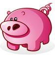 pigpig piglet cartoon character vector image vector image