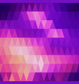polygon abstract background for presentations vector image