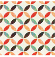 seamless geometric circular pattern vector image vector image