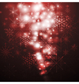 Abstract X-mas background vector image