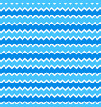 abstract seamless pattern with zigzag waves vector image