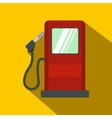 Gas station flat icon vector image