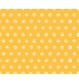 Seamless pattern polka dot fabric wallpaper vector image