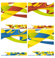 abstract backround of different colors vector image
