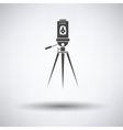 Laser level tool icon vector image