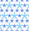 Blue snowflakes textured with gray dots vector image