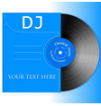 Design Vinyl Record vector image