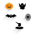 Flat halloween icon