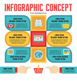 Infographic Concept for Presentation vector image vector image