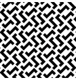 irregular maze lines black and white vector image vector image
