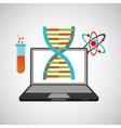 learn online school chemistry molecule vector image