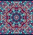 mandala floral design colorful ornament element vector image vector image