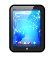 touchpad vector image