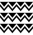 zig zag seamless tribal pattern geometric vector image vector image