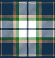 blue green and beige tartan plaid seamless pattern vector image vector image