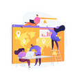customer support abstract concept vector image vector image