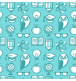 education pattern flat 2 vector image vector image