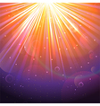 Orange and purple Lights background vector image vector image