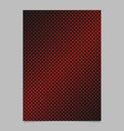 Retro halftone circle pattern background page
